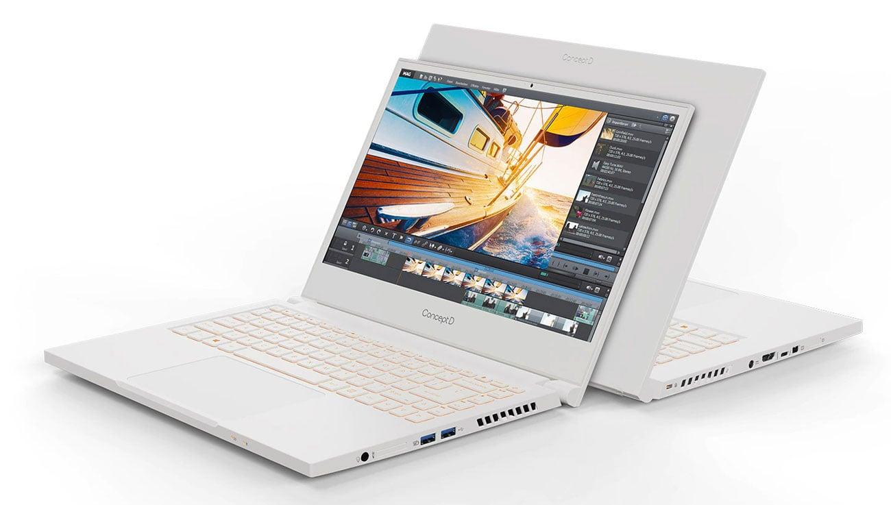 Laptop do projektowania graficznego Acer ConceptD 3