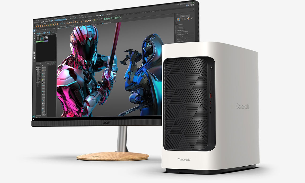 Desktop dla profesjonalistów Acer ConceptD 300