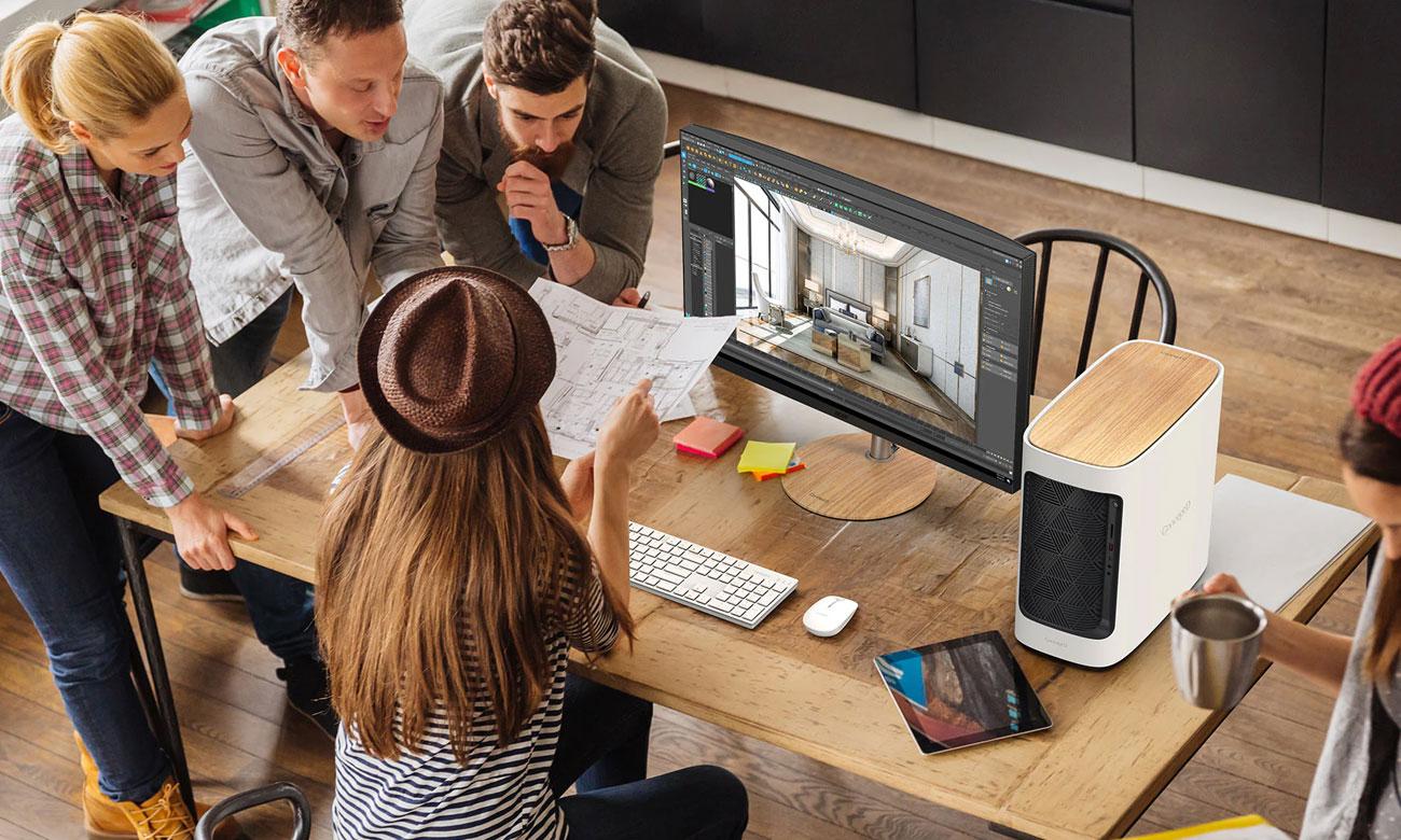 Praca w biurze Acer ConceptD 300