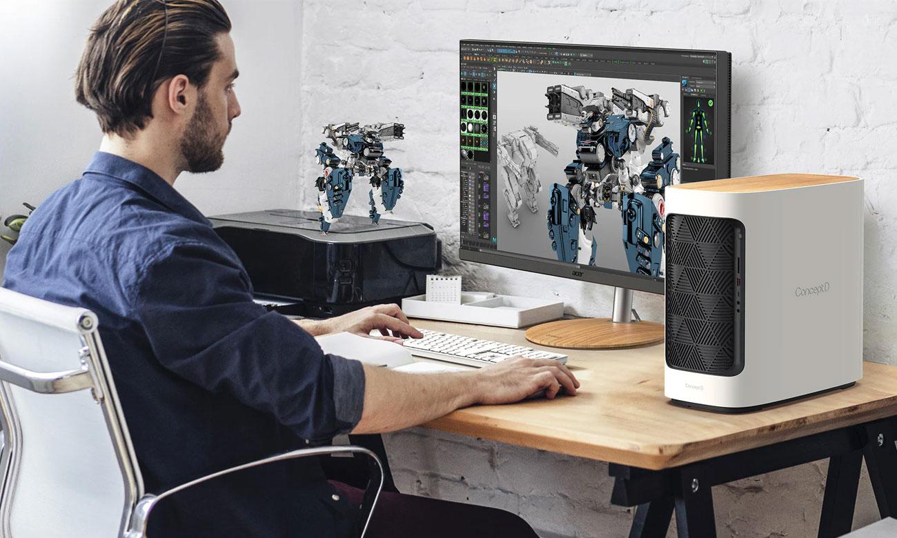 Projektowanie graficzne Acer ConceptD 300