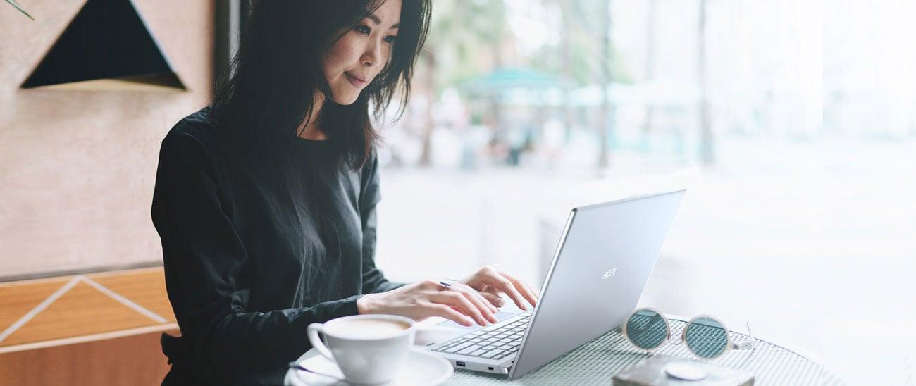 Acer Swift 3 ergonomiczna praca