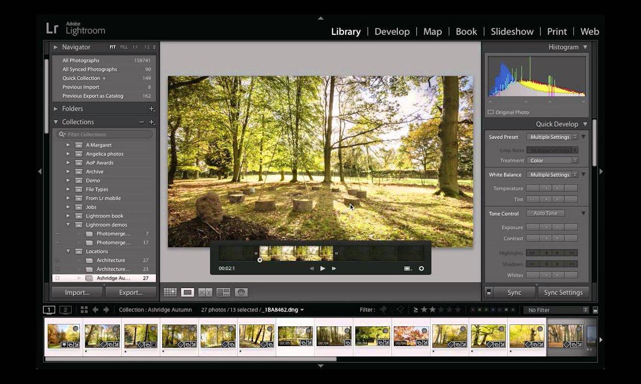 pokazy slajdów połączone z wideo