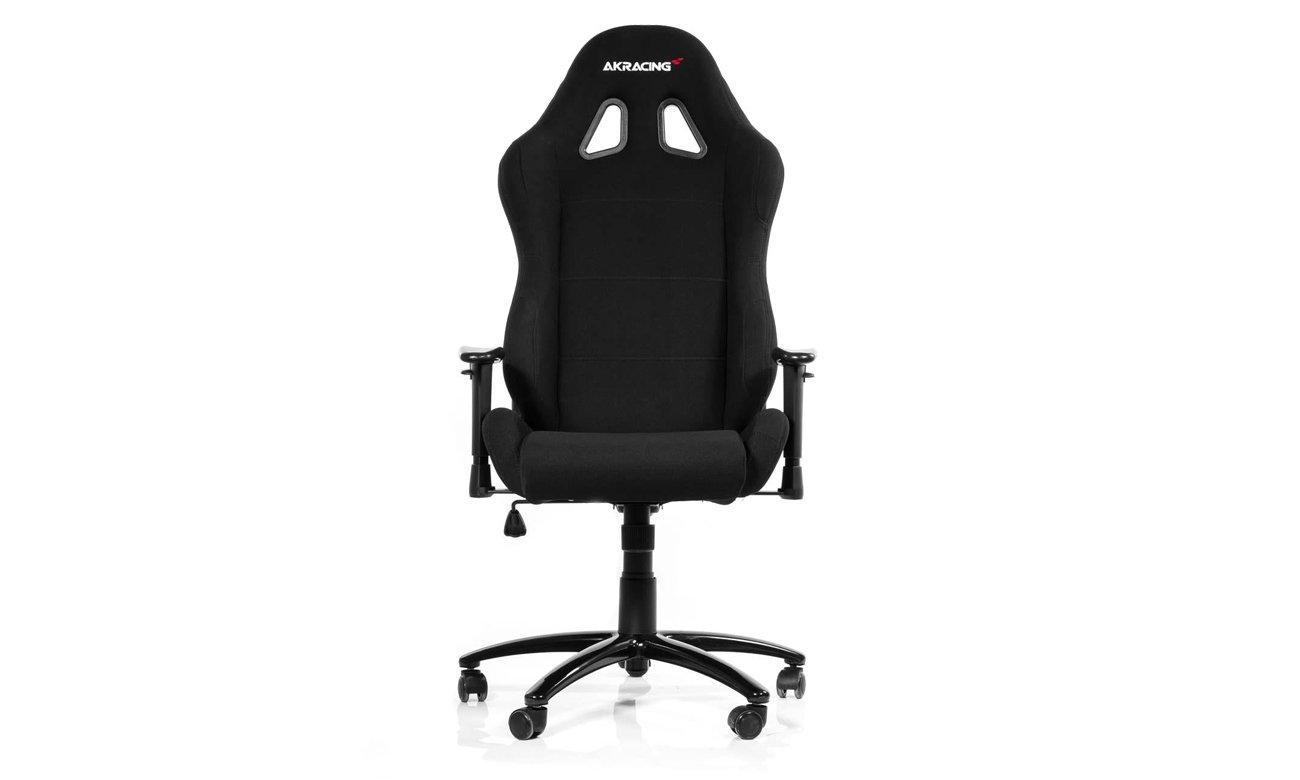 AKRACING Gaming Chair (Czarny) widok z przodu