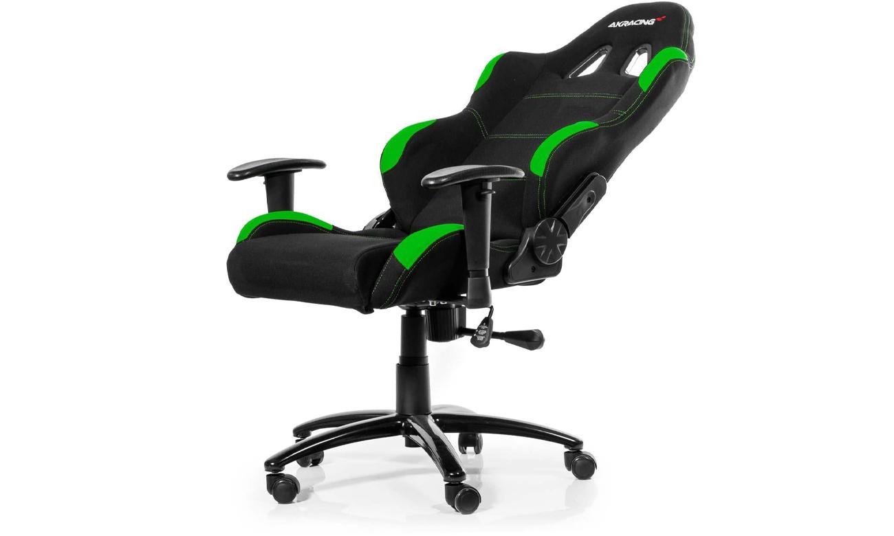 AKRACING Gaming Chair (Czarno-Zielony) regulacja nachylenia
