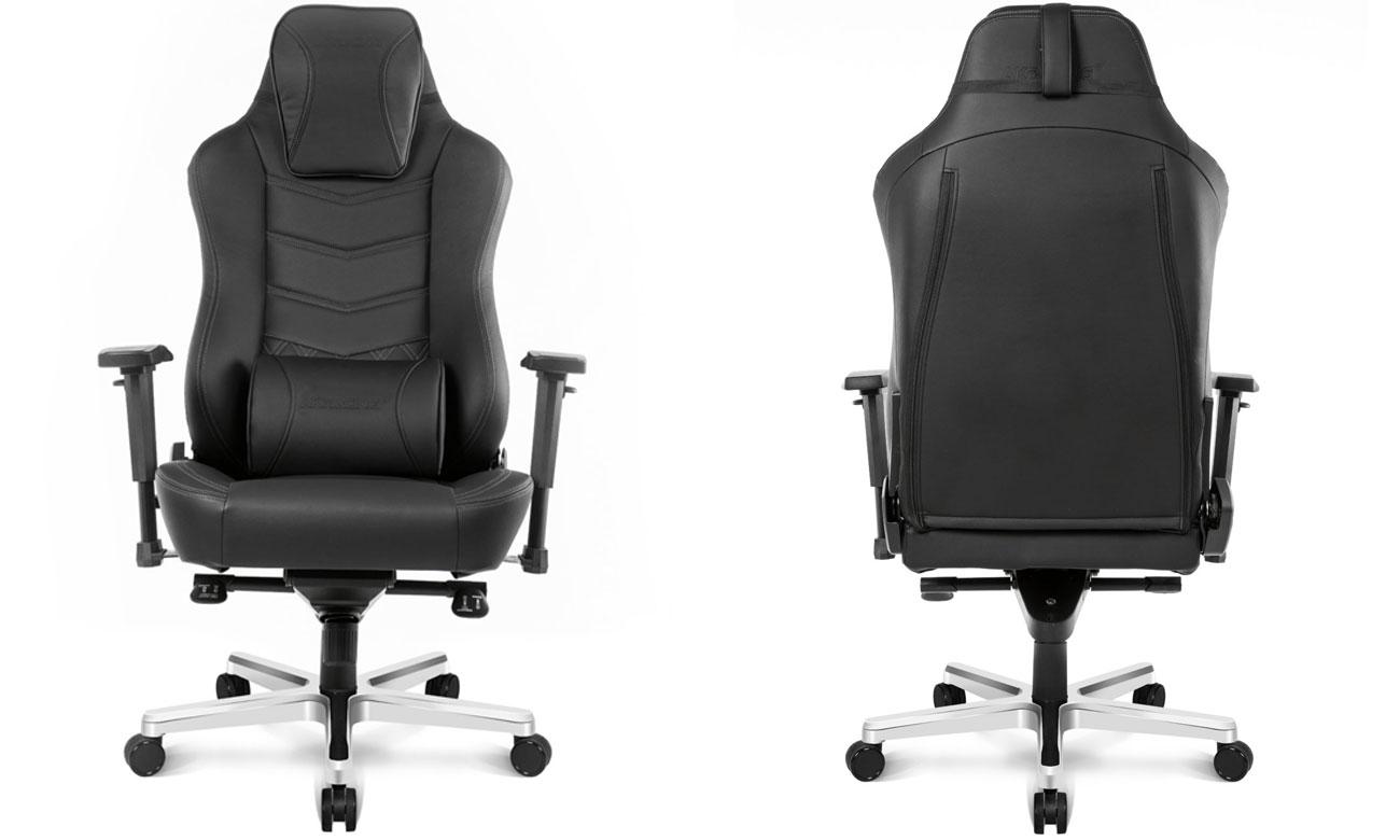 Fotel dla gracza AKRACING Office Onyx Czarny