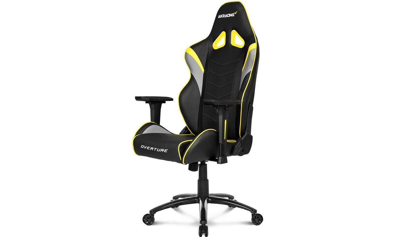 Fotel gamingowy AKRACING Overture (Czarno-Żółty) AK-OVERTURE-YL