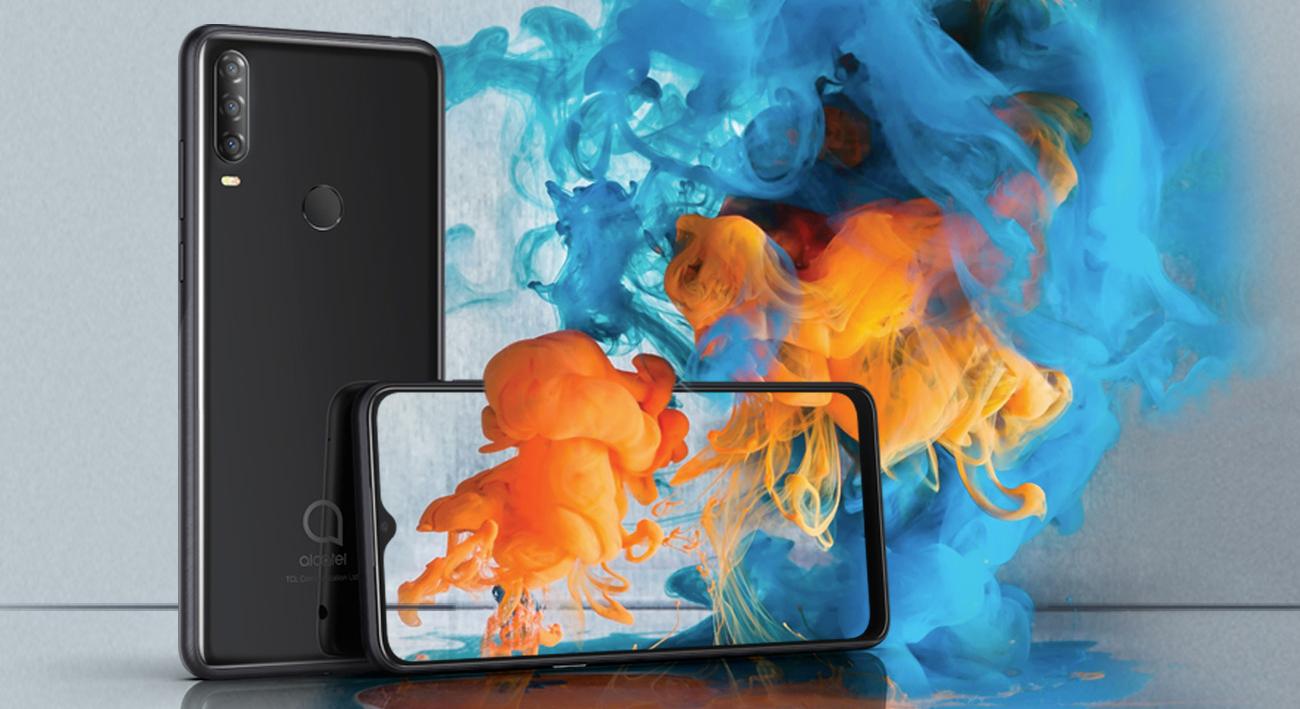 Alcatel 3x (2019) gradientowa obudowa ze szkła i metalu
