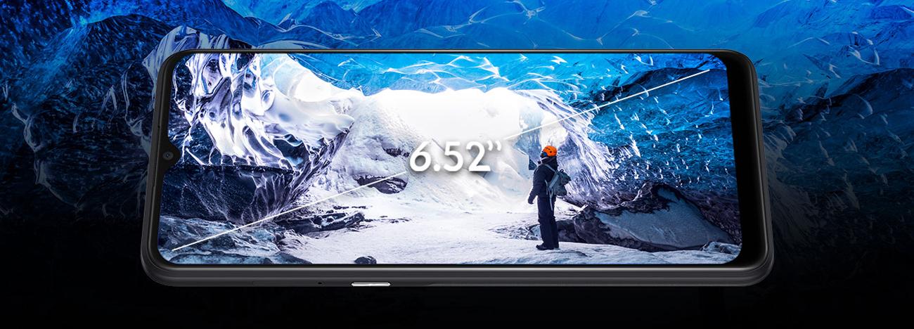 Alcatel 3x (2019) panoramiczny ekran