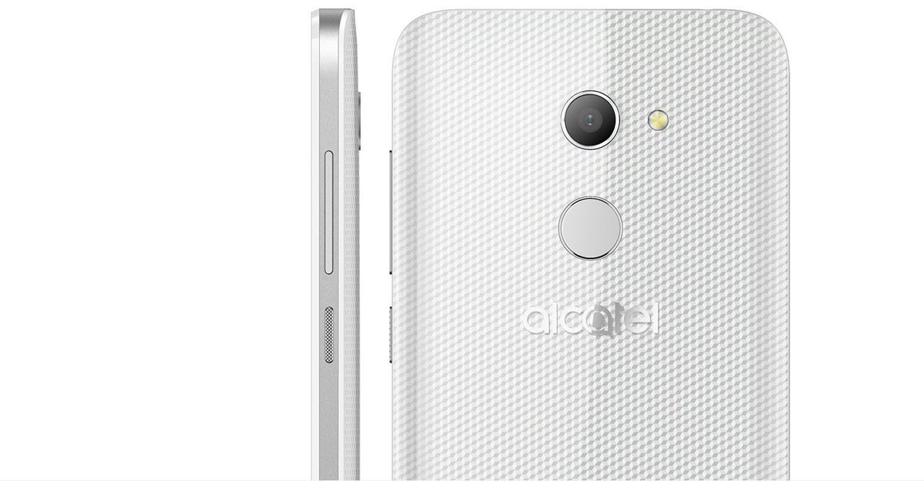 czarny Alcatel A5 LED teksturowana obudowa