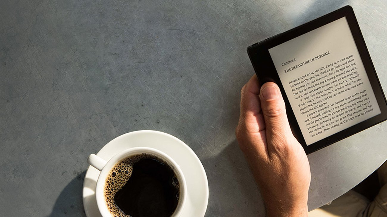 Amazon Kindle Oasis 2 ekran dotykowy e-ink carta