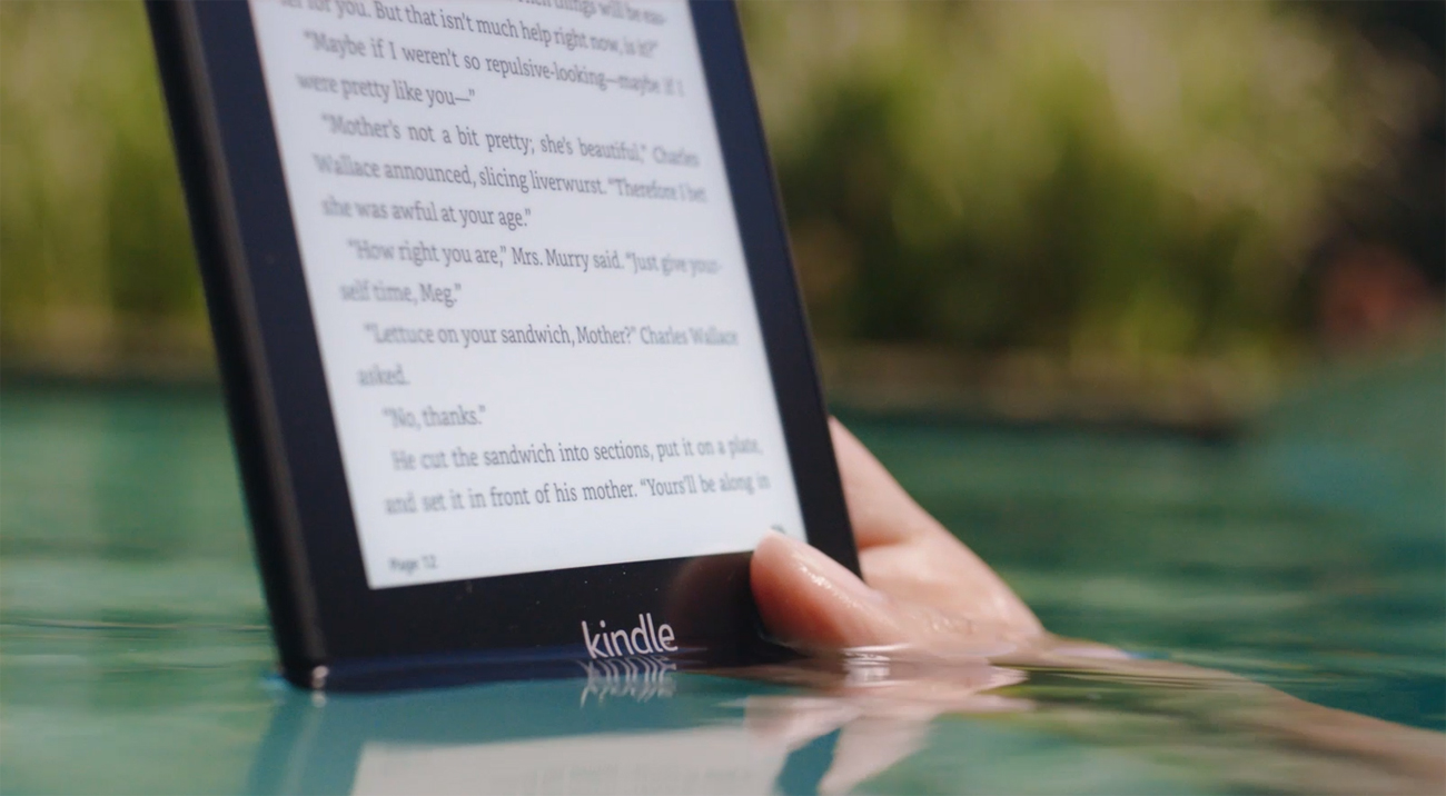 All-new Kindle Paperwhite 4 special offer wodoodporna konstrukcja