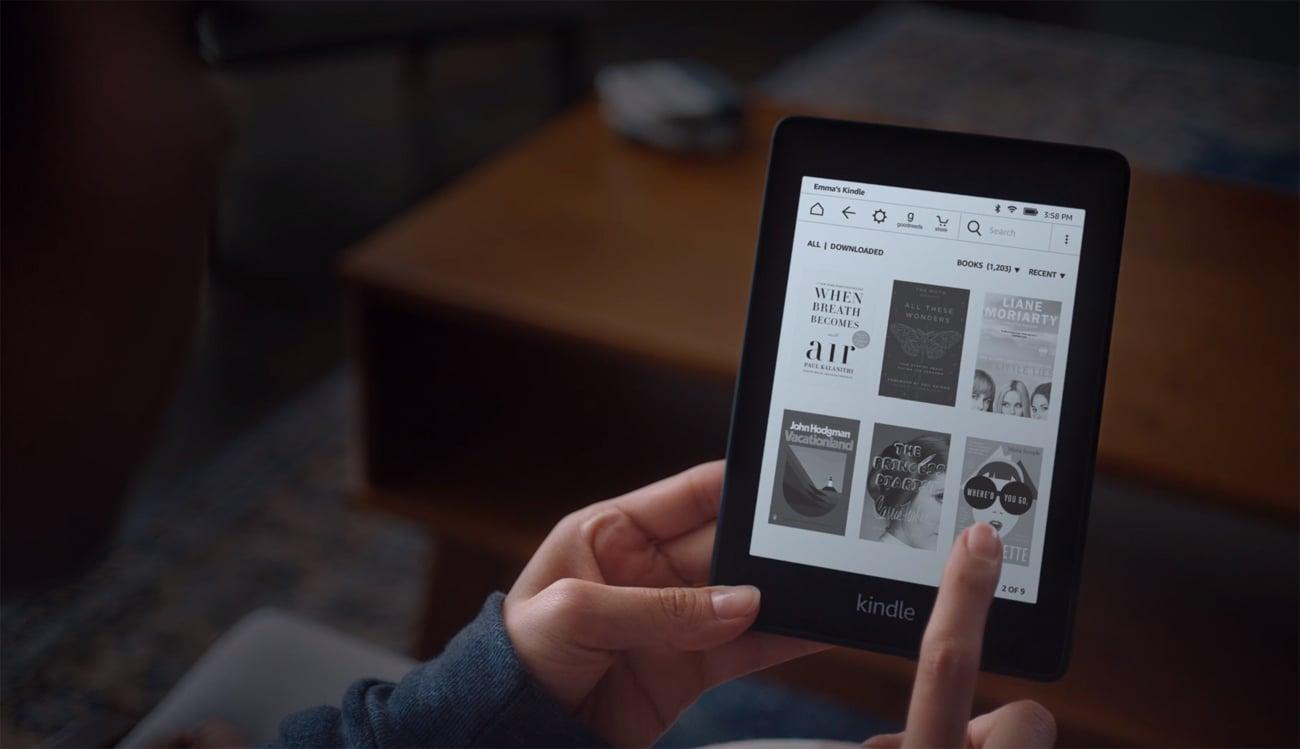 All-new Kindle Paperwhite 4 special offer pełna kontrola nad tekstem