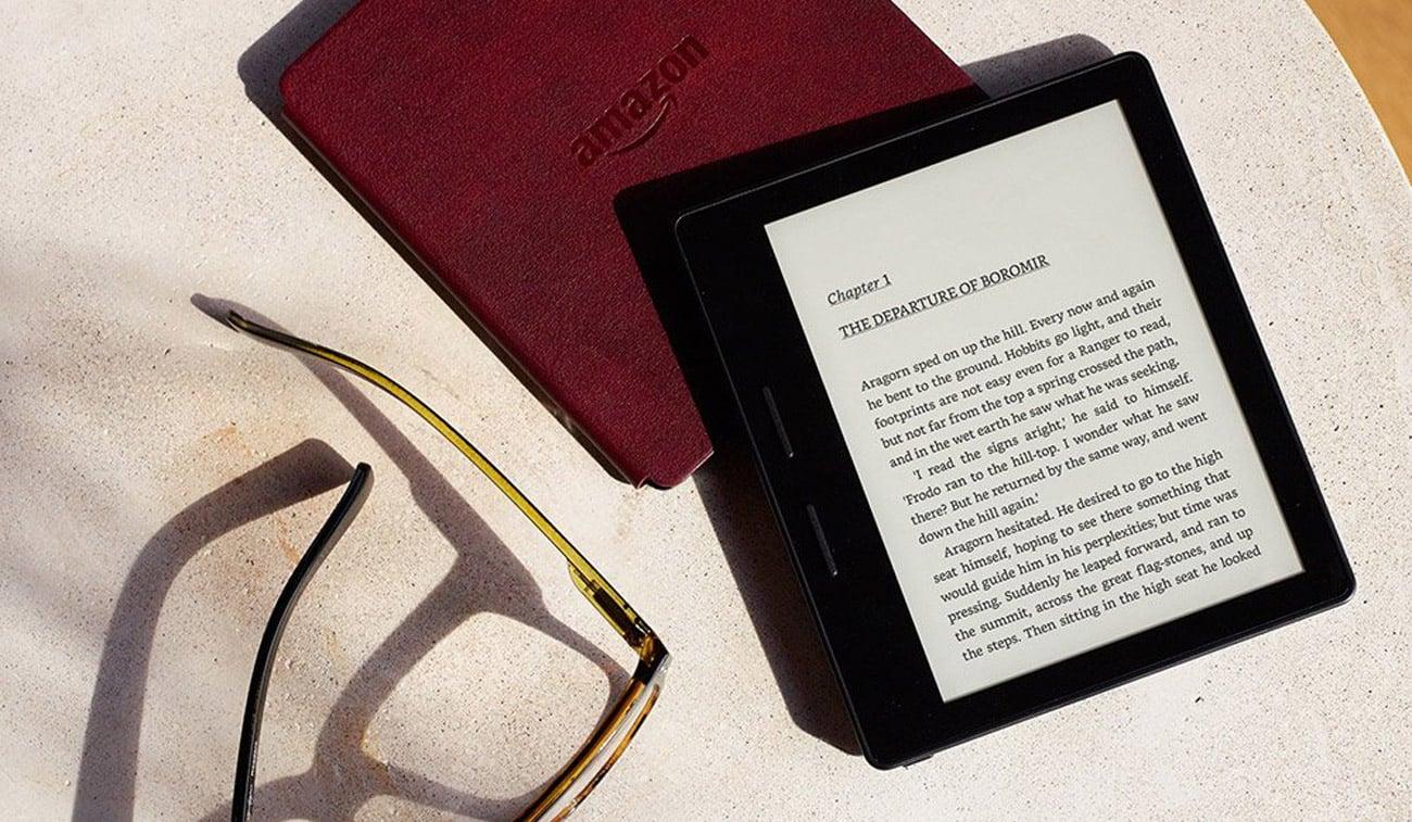 Amazon Kindle Oasis tradycyjna ksiązka z nowymi funkcjami