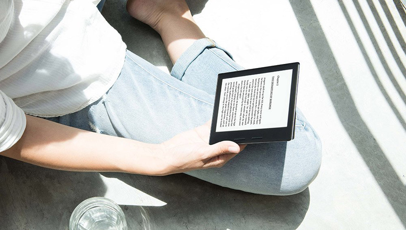 Amazon Kindle Oasis ekran e-ink carta