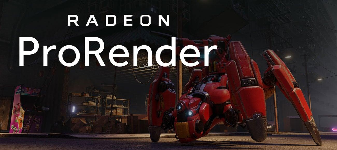 AMD Radeon Pro WX 9100 16GB HBM2 Radeon Pro Render