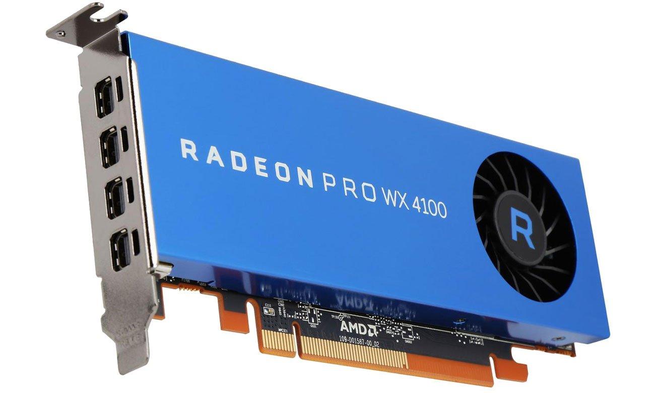 Karta graficzna AMD  Radeon Pro WX 4100 4GB GDDR5 100-506008