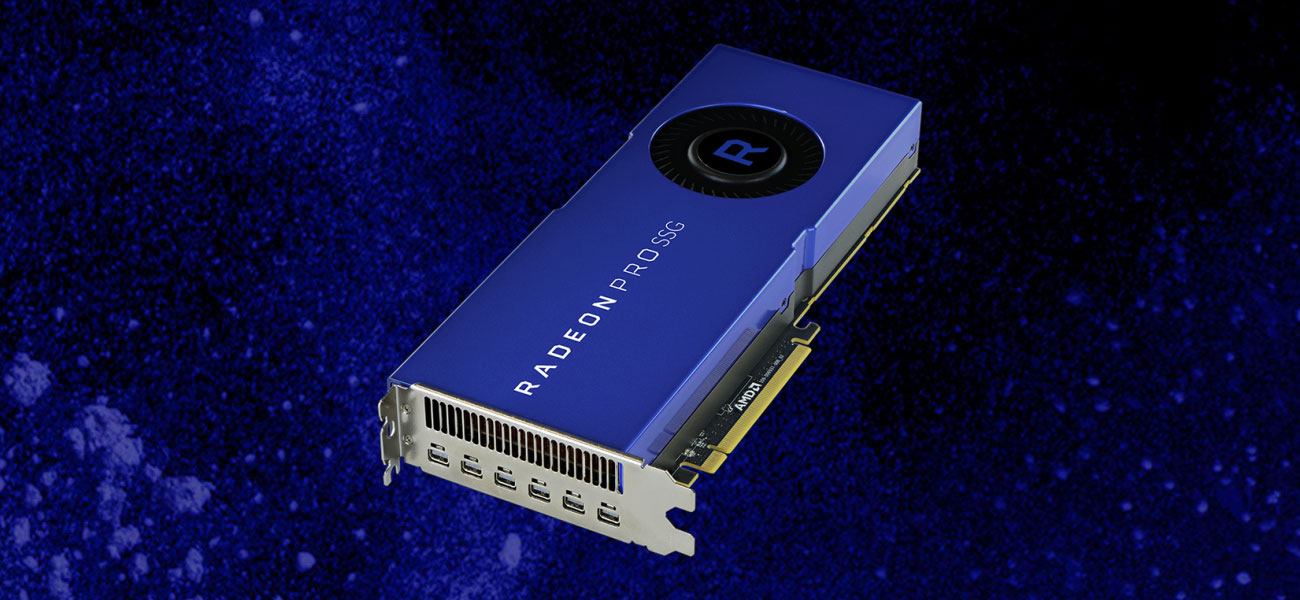 AMD Radeon Pro SSG VEGA 16GB HBM2