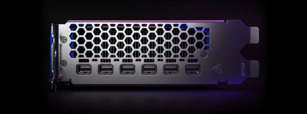 AMD Radeon PRO W6800 32GB - Złącza