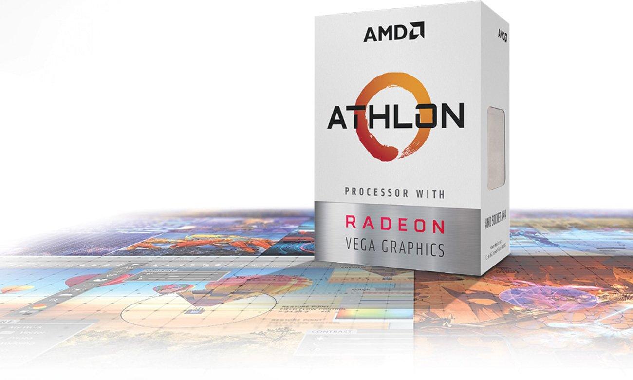 AMD Athlon 200GE 3.2 GHz Opakowanie