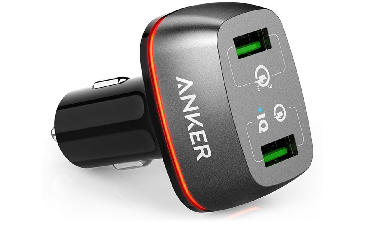 Ładowarka samochodowa Anker PowerDrive+ 2