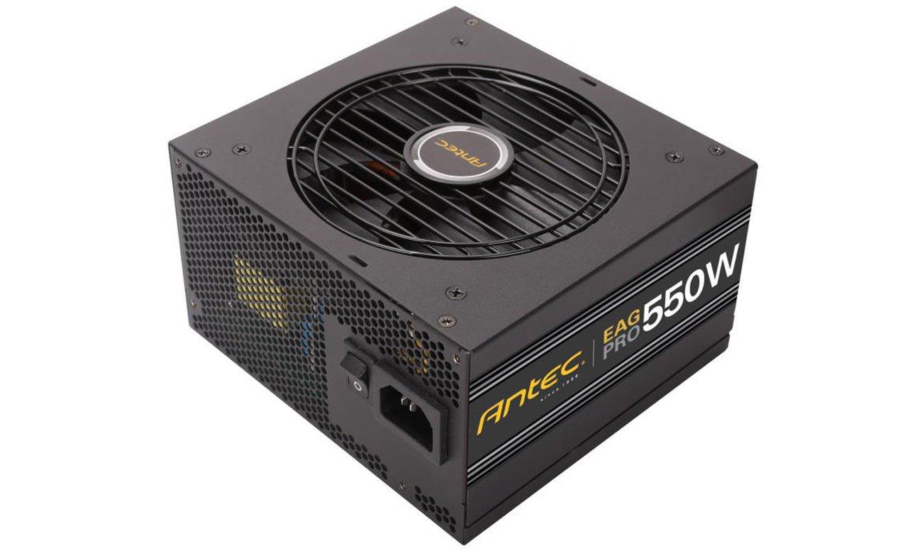 Zasilacz Antec EA550G Earthwatts Gold Pro 550W Niezawodna moc, nadzwyczajna wydajność