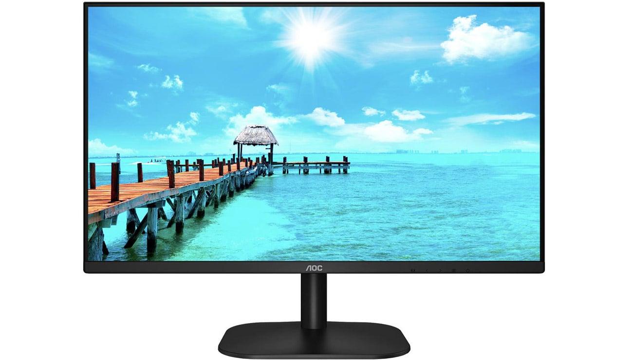 Monitor do domu i do biura AOC 24B2XHM2