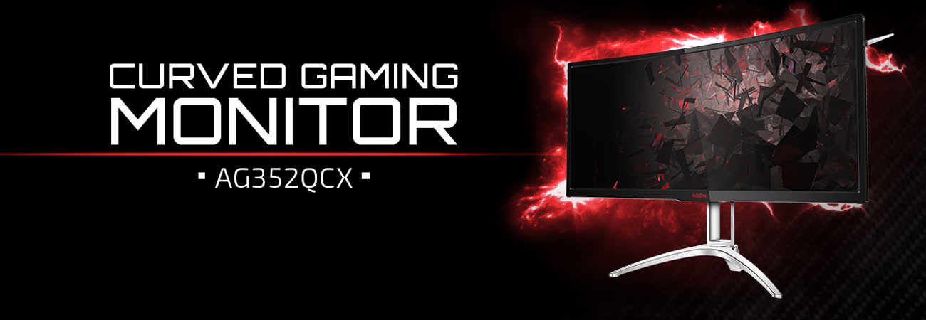 Monitor dla gracza AON AGON AG352QCX Curved