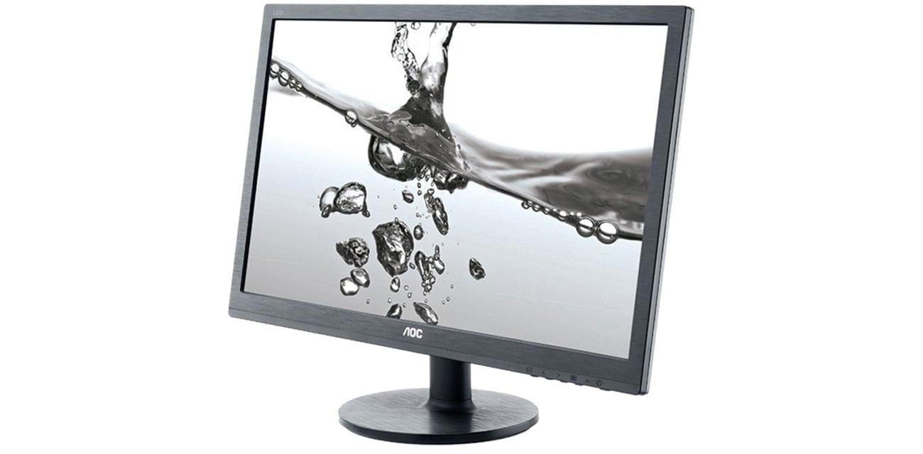 Wszechstronny monitor do domu i biura AOC E2460SH