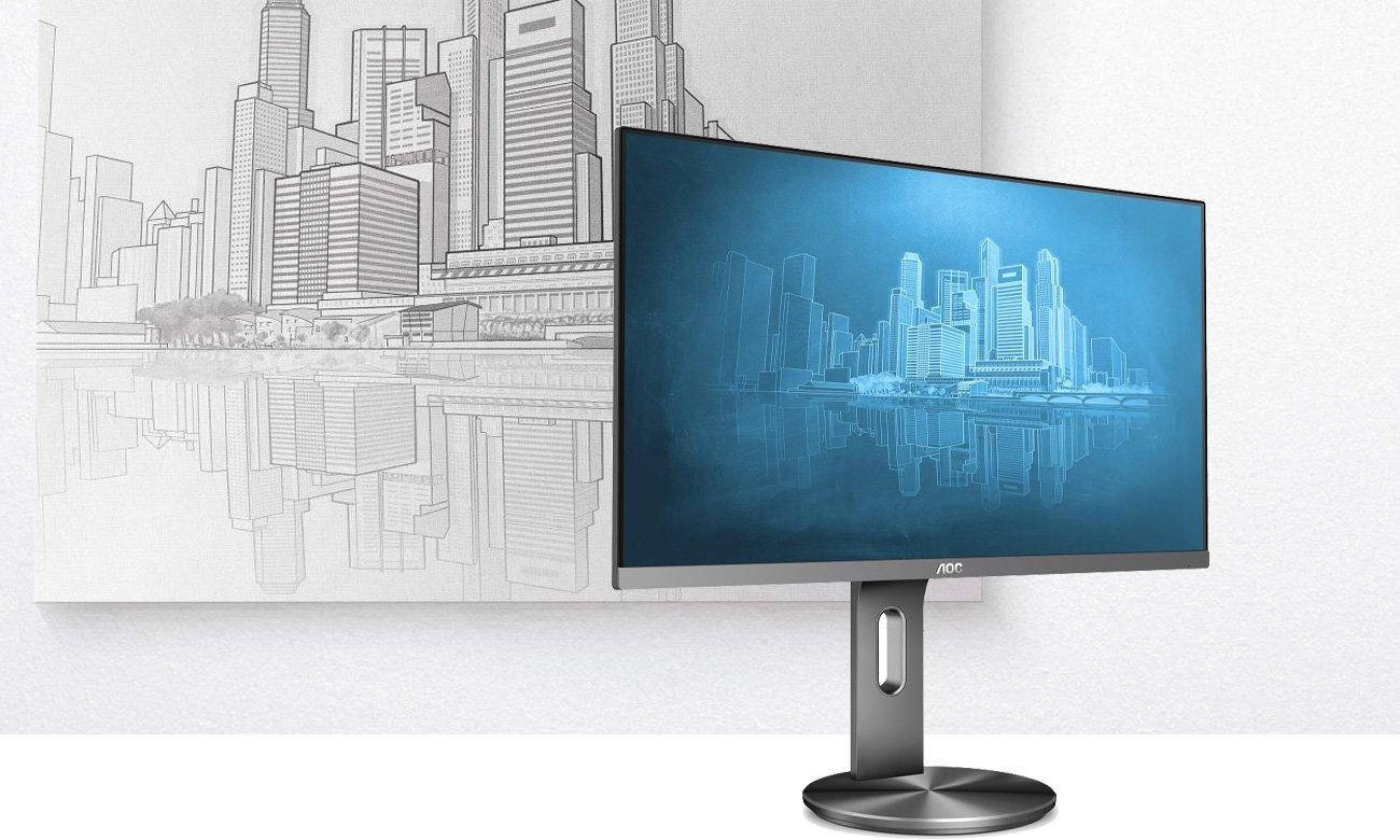 Monitor do domu i do biura AOC I2790PQU
