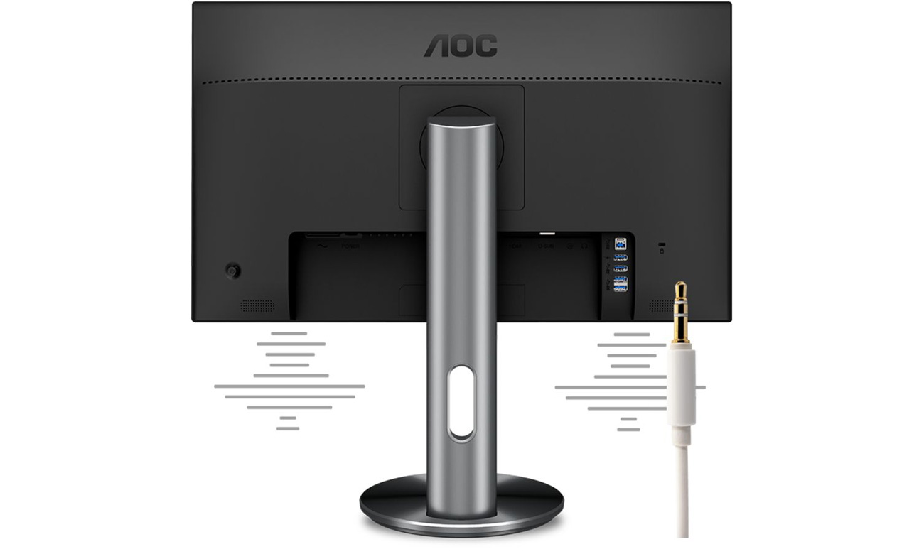 AOC I2790PQU/BT Wbudowane głośniki