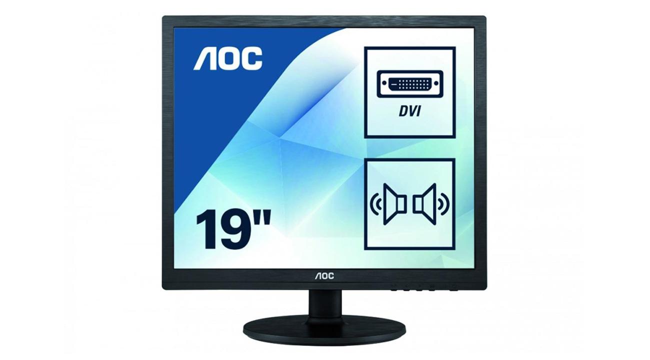 Monitor do domu i do biura AOC I960SRDA