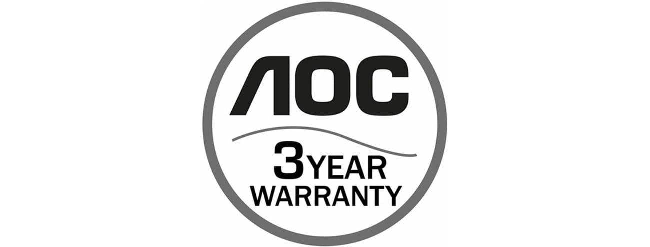 AOC G2460VQ6 czarny gwarancja