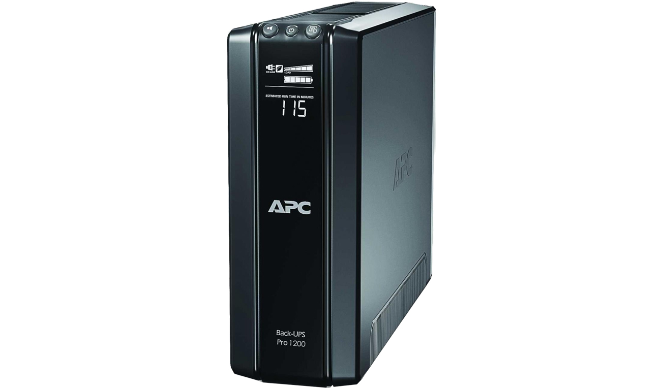 APC Back-UPS Pro 1200 widok z przodu