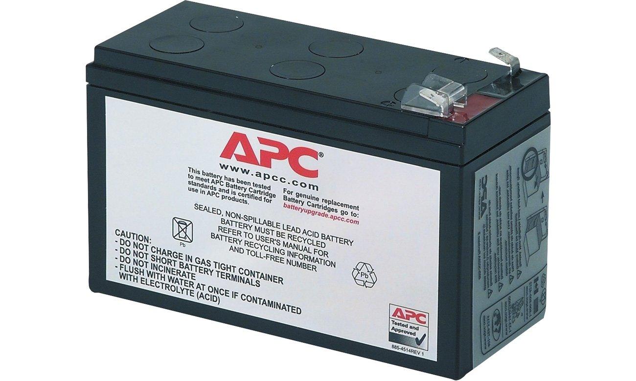 APC Zamienna kaseta akumulatora RBC106