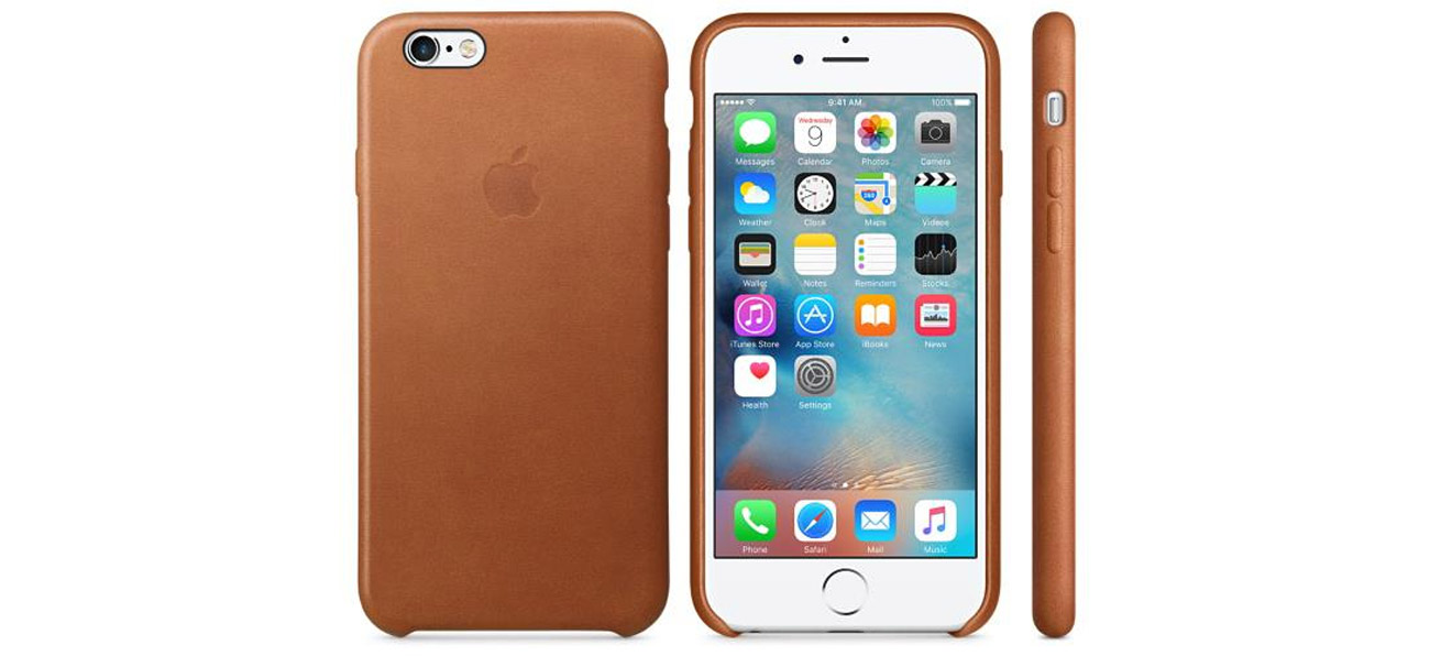 Apple iPhone 6s Leather Case jasny brązowy