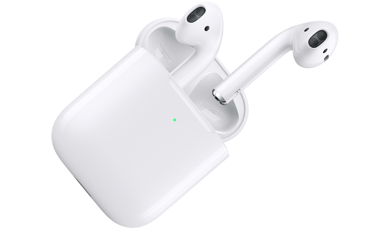 Apple New AirPods 2019 i bezprzewodowe etui ładujące