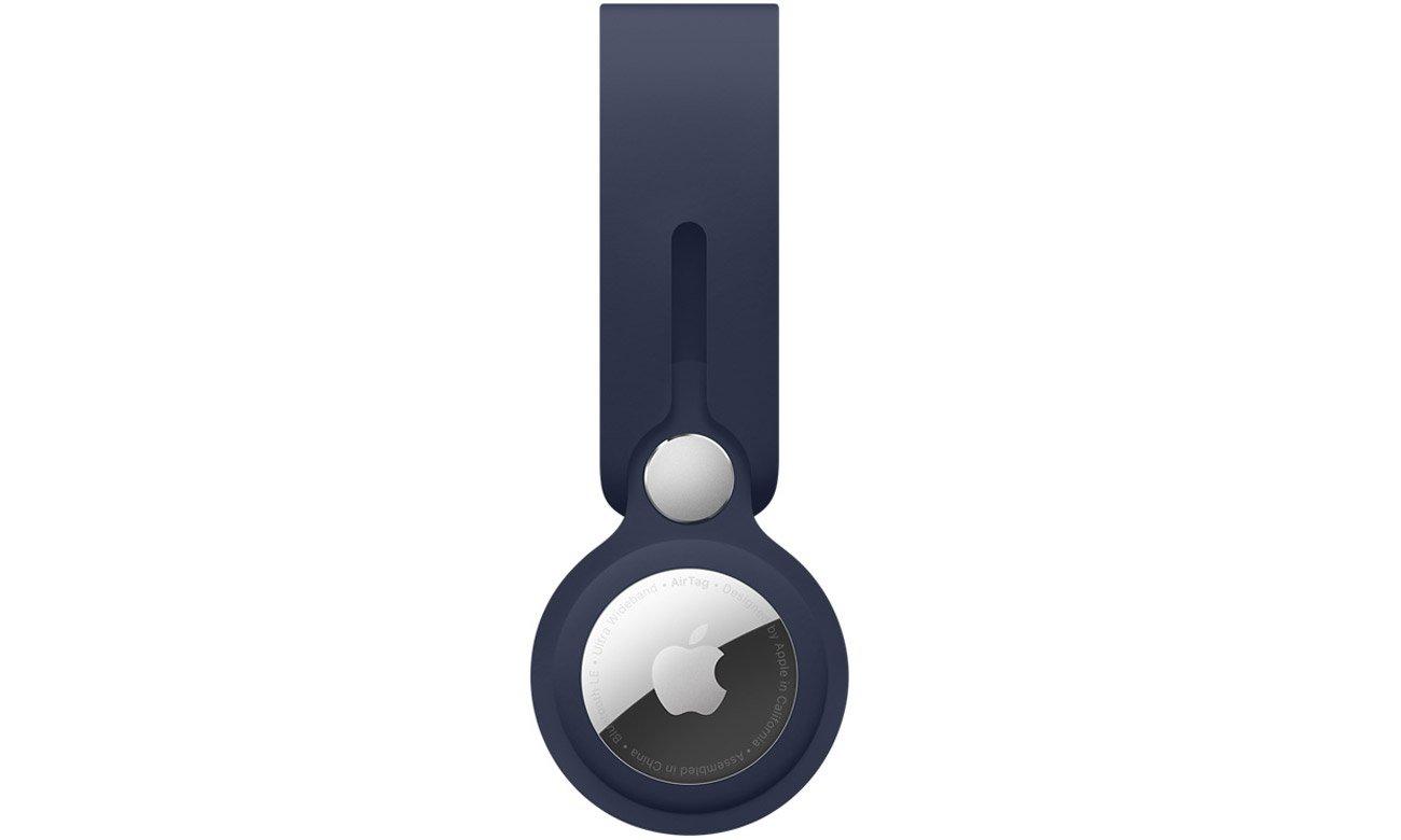 Pasek do lokalizatora Apple AirTag Głęboki granat