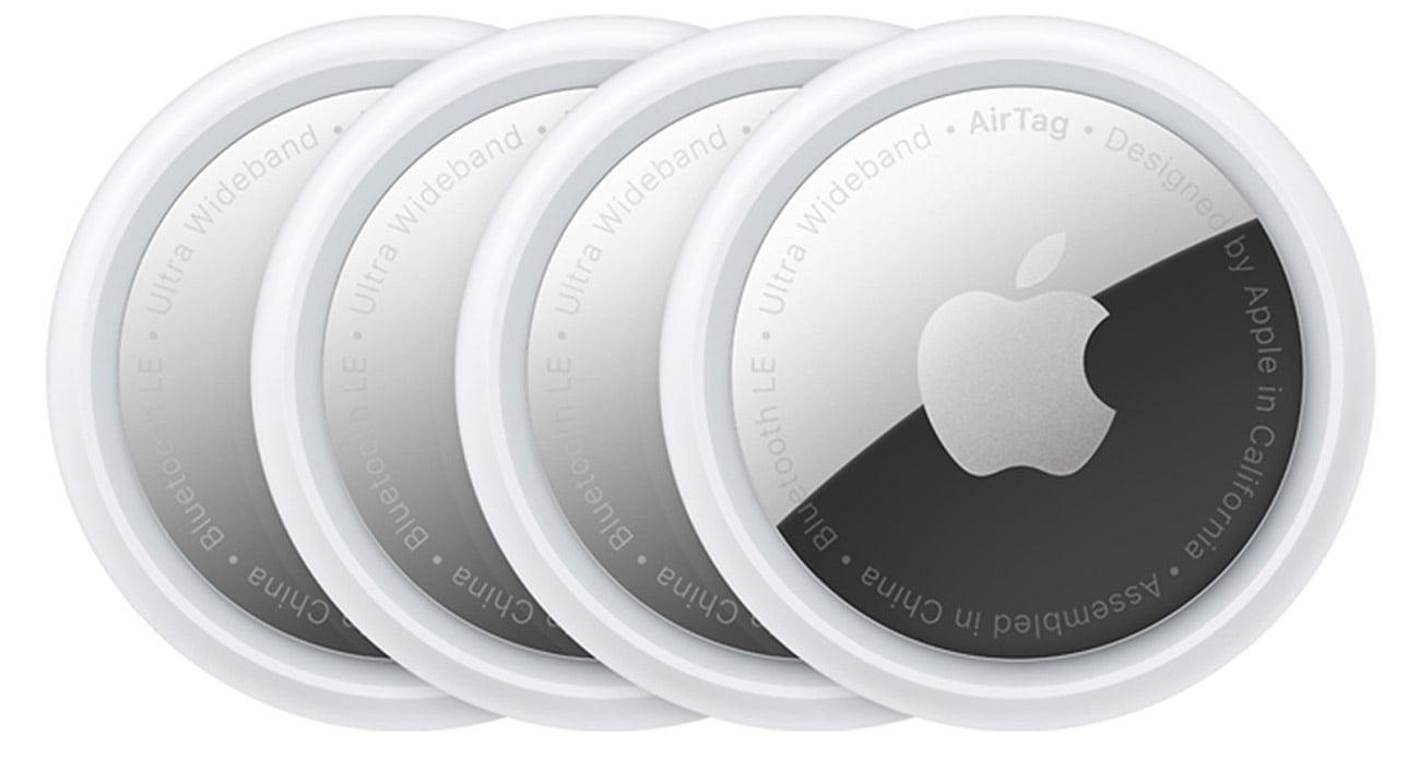 Zestaw 4 lokalizatorów przedmiotów Apple AirTag