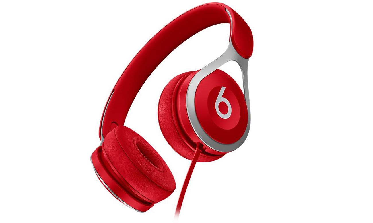 Słuchawki Apple Beats EP On-Ear Czerwone Znakomita jakość dźwięku