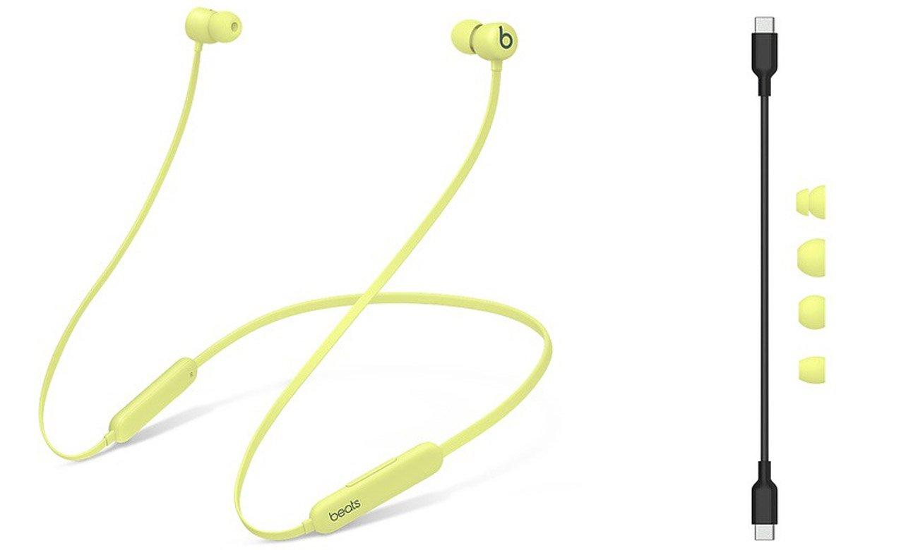 Słuchawki bezprzewodowe Apple Beats Flex Żółty yuzu