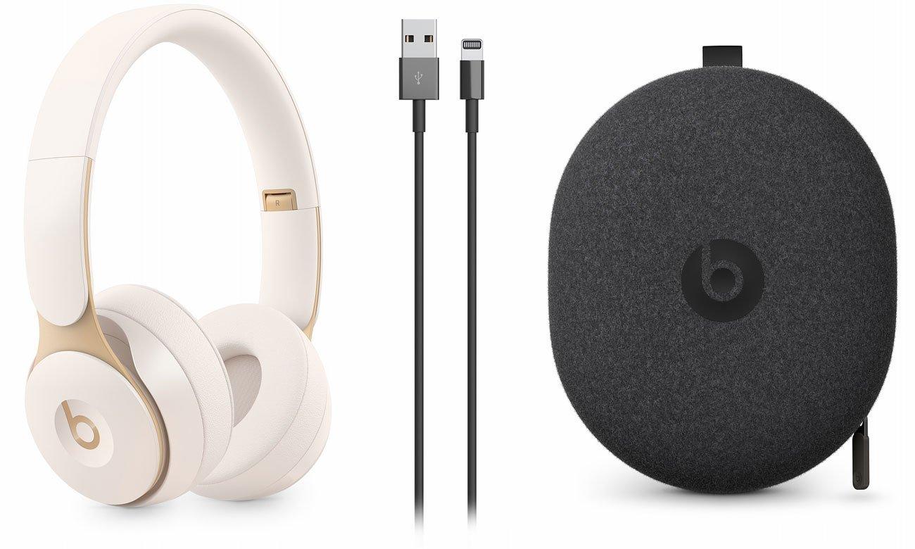 Słuchawki Apple Beats Solo Pro Wireless Kość słoniowa