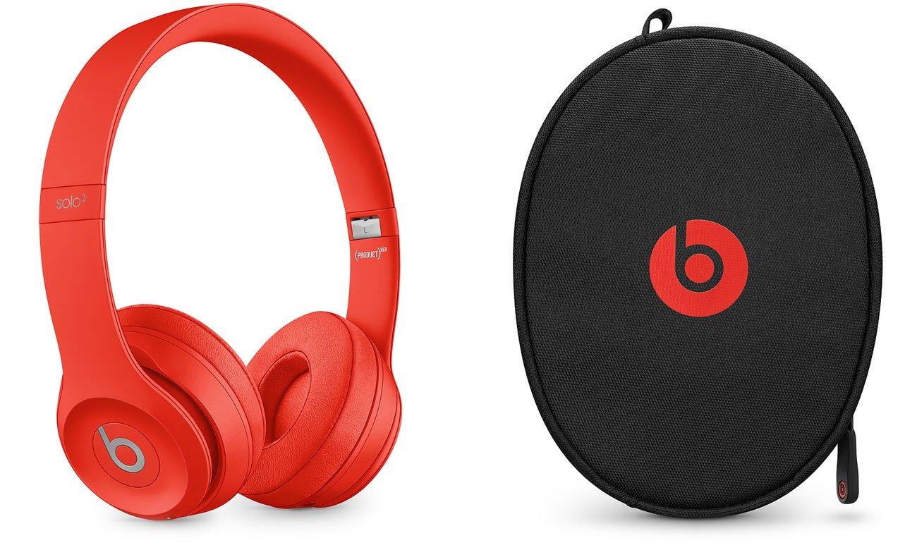 Słuchawki Apple Beats Solo3 Wireless Cytrusowa czerwień