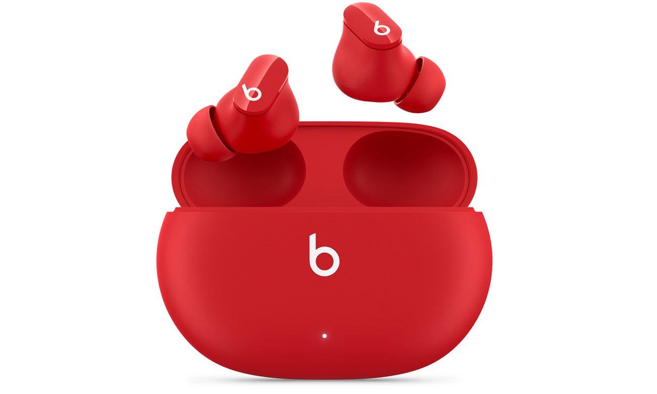 Słuchawki bezprzewodowe Apple Beats Studio Buds Czerwone