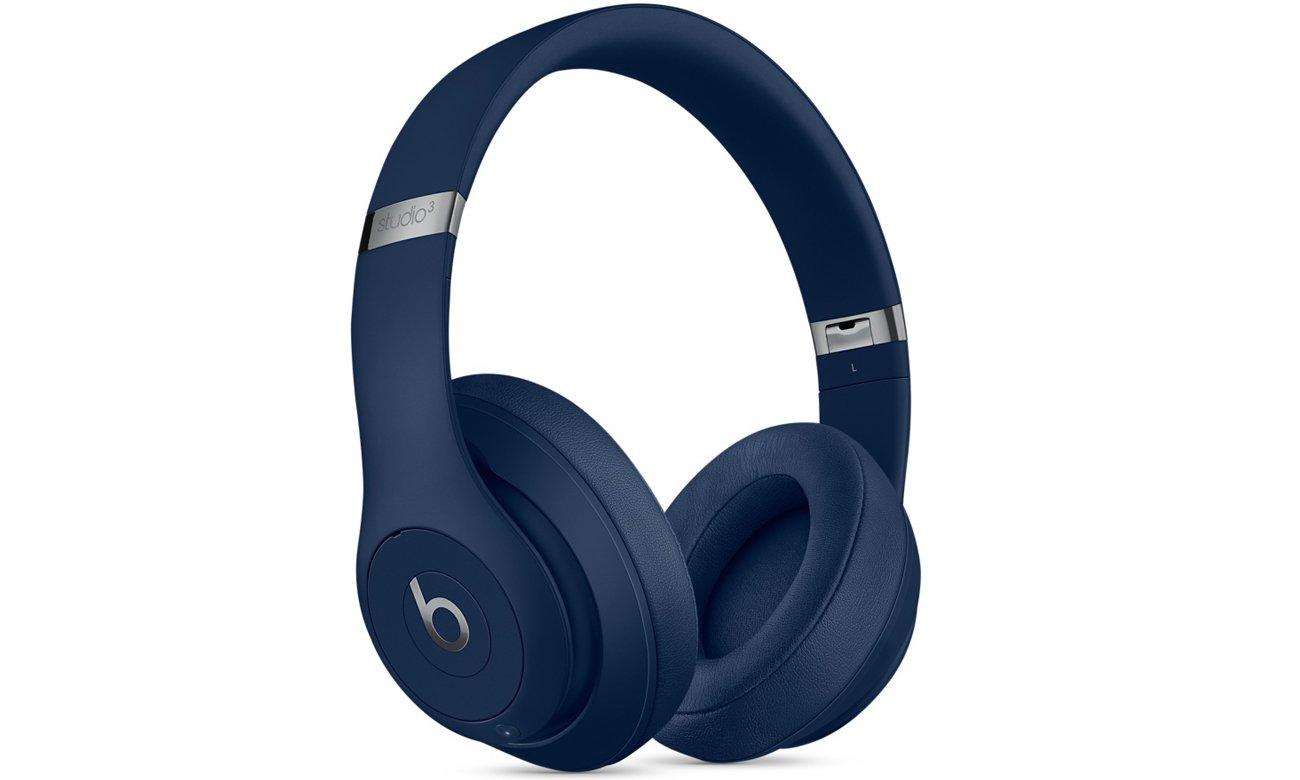 Słuchawki Apple Beats Studio3 Wireless niebieskie