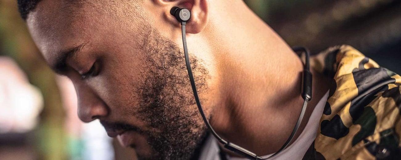 Słuchawki Apple BeatsX Niebieskie