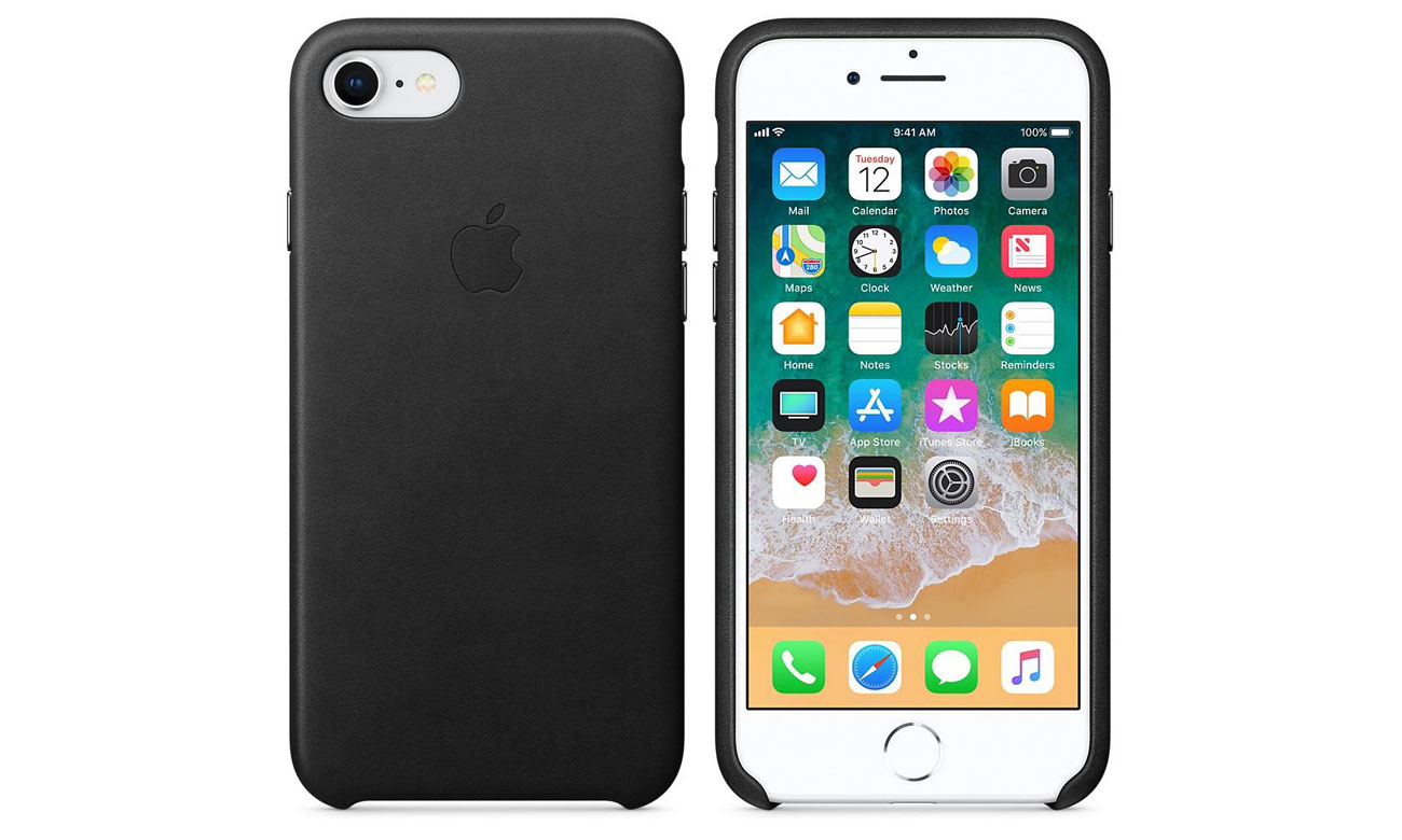 Apple Leather Case do iPhone 7/8