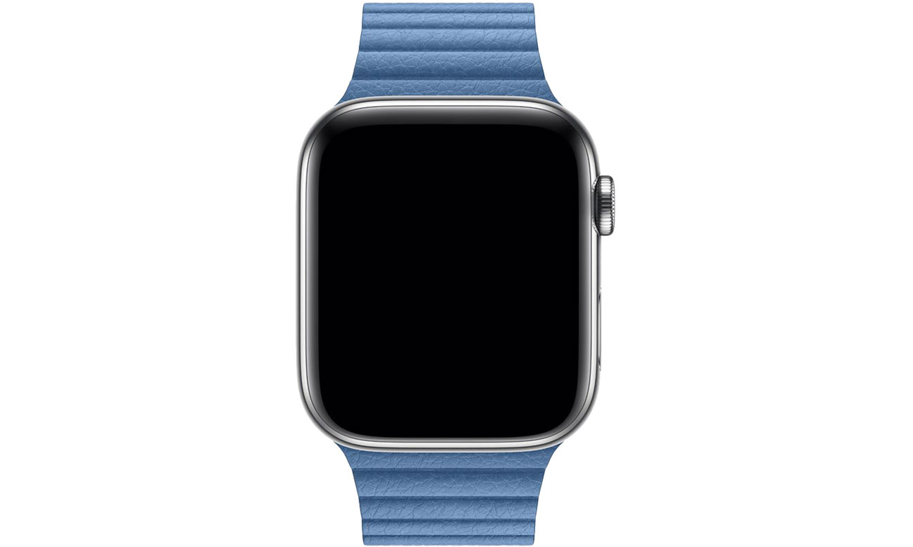 Apple Opaska skórzana niebieska do koperty 44 mm L