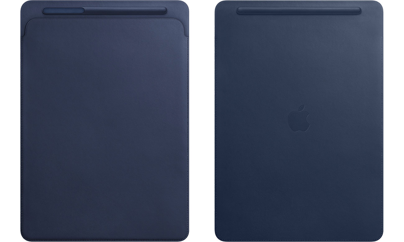 Etui na tablet Apple Leather Sleeve do iPad Pro 12.9'' Midnight Blue
