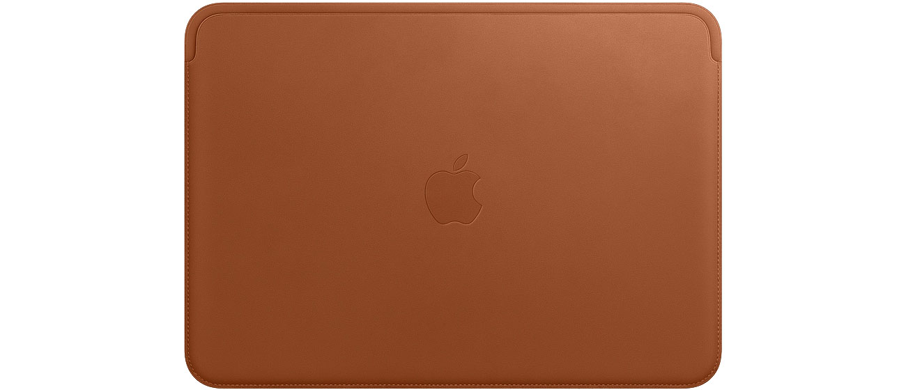 Apple Leather Sleeve do MacBook 12'' saddle brown mqg12zm/a
