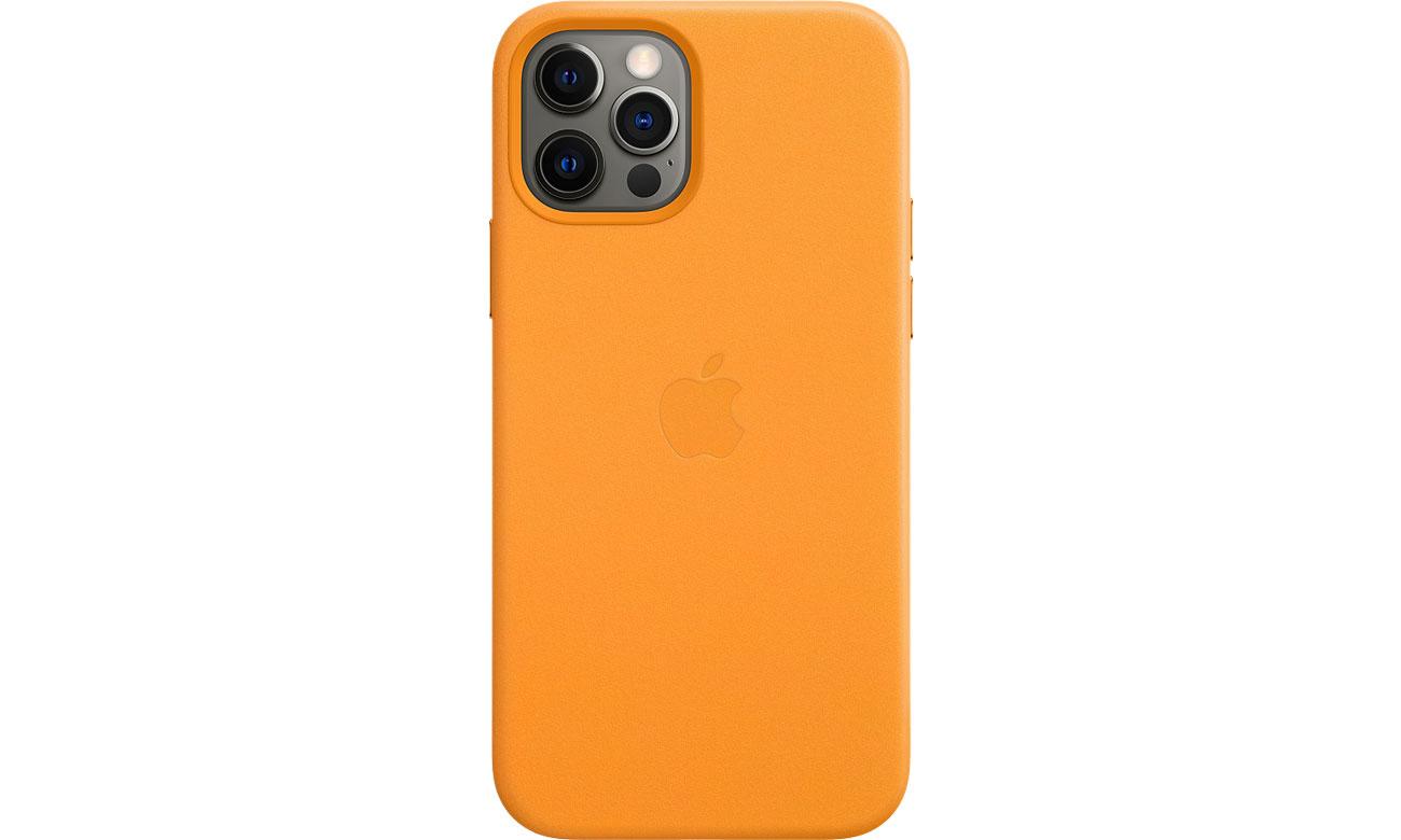 Apple Skórzane etui iPhone 12|12Pro kalifornijski mak MHKC3ZM/A